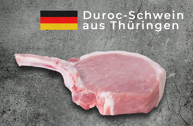 Duroc Krone - Schweinefleisch aus Thüringen