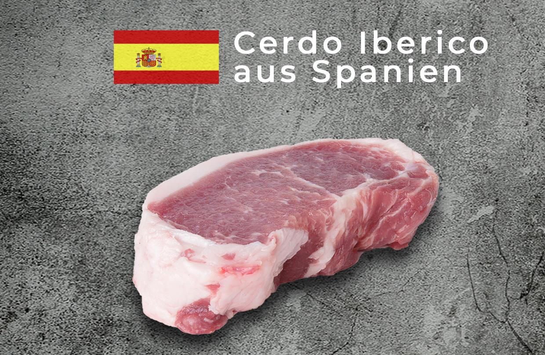Cerdo Iberico aus Spanien